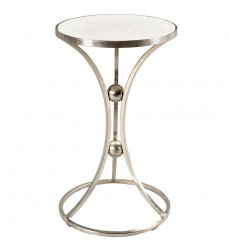 Worldwide - Aura Accent Table - Nickel (501-396NK)