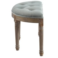 Azalea-Single Bench-Sage Grey (401-865S-GY)