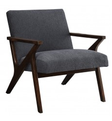 Beso-Accent Chair-Grey (403-976GY) - Worldwide HomeFurnishings