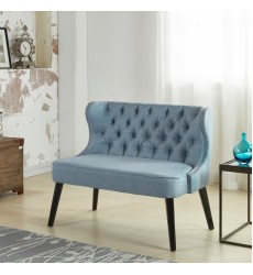 Worldwide - Biscotti Double Bench - Light Blue (401-188LB)