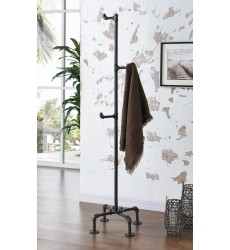 Bronx-Coat Rack-Antique Black (552-267BK)