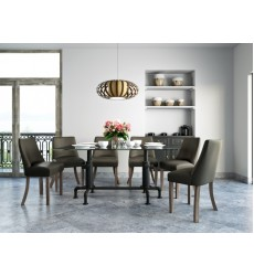 Worldwide - Bronx/Alton 7Pc Dining Set -  (207-267_471PUGY)