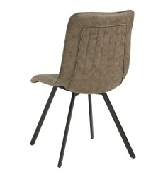 Buren-Side Chair-Vintage Brown (202-475BN)
