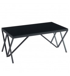 Calix-Coffee Table-Black (301-699BK)