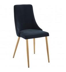 Carmilla-Side Chair-Black (202-353BK) Side Chair - Worldwide HomeFurnishings