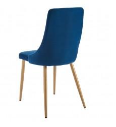 Carmilla-Side Chair-Blue (202-353BLU) Side Chair - Worldwide HomeFurnishings