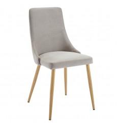 Carmilla-Side Chair-Grey (202-353GY) Side Chair - Worldwide HomeFurnishings