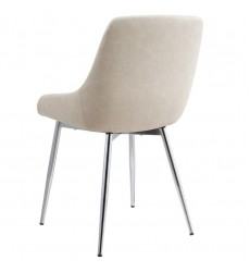 Cassidy-Side Chair-Ivory (202-330IV)