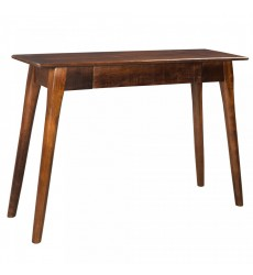 Chintu-Console/Desk-Walnut (502-500WAL) - Worldwide HomeFurnishings