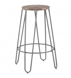 Cliff-26''Counter Stool-Grey (203-412GY)