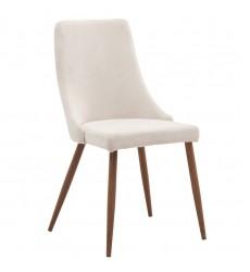 Cora-Side Chair-Beige (202-182BG) Side Chair - Worldwide HomeFurnishings