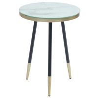 Cordelia-Accent Table-White (501-432WT)