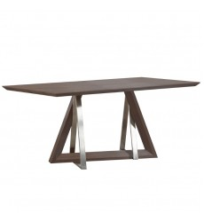 Worldwide - Drake Dining Table - Walnut (201-219WAL)