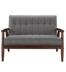 Worldwide - Durango Double Bench - Grey (401-135GY)