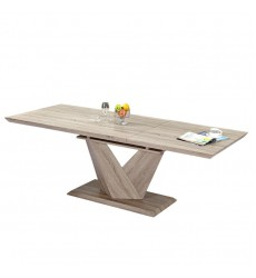 Eclipse-Dining Table-Washed Oak (201-860OK)