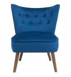 Elle-Accent Chair-Blue (403-340BLU) - Worldwide HomeFurnishings