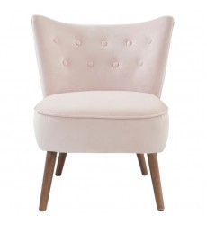 Elle-Accent Chair-Blush Pink (403-340BSH) - Worldwide HomeFurnishings