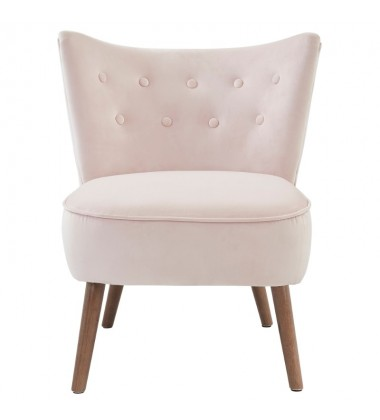 Elle-Accent Chair-Blush (403-340BSH)