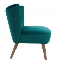 Elle-Accent Chair-Green (403-340GN) - Worldwide HomeFurnishings