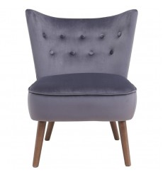 Elle-Accent Chair-Grey (403-340GY)