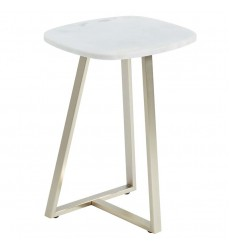 Ellis-Accent Table-White (501-452WT) - Worldwide HomeFurnishings