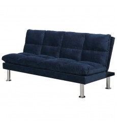 Eloy-Convertible Sofa-Dark Blue (108-519DKB)