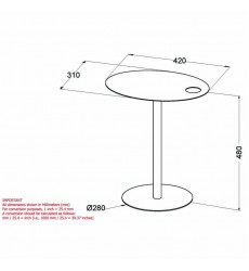 Enzo-Accent Table-Black (501-098BK) - Worldwide HomeFurnishings