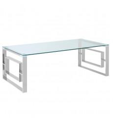 Worldwide - Eros Coffee Table - Chrome (301-482CH)
