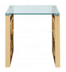 Eros-Accent Table-Gold (501-482GL) - Worldwide HomeFurnishings