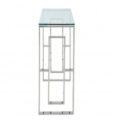 Eros-Console/Desk-Silver (502-482CH) - Worldwide HomeFurnishings