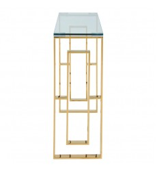 Eros-Console/Desk-Gold (502-482GL) - Worldwide HomeFurnishings