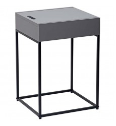 Eryk-Accent Table-Grey (501-090GY)