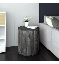 Eva-Accent Table-Distressed Grey (501-126GY)