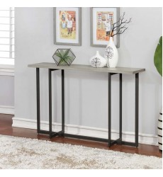 Faro-Console Table-Grey (502-099GY) - Worldwide HomeFurnishings