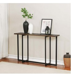 Faro-Console Table-Walnut (502-099WAL) - Worldwide HomeFurnishings