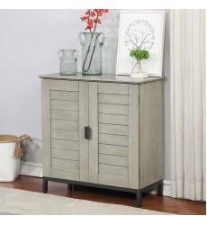 Faro-Cabinet-Grey (507-099GY) - Worldwide HomeFurnishings