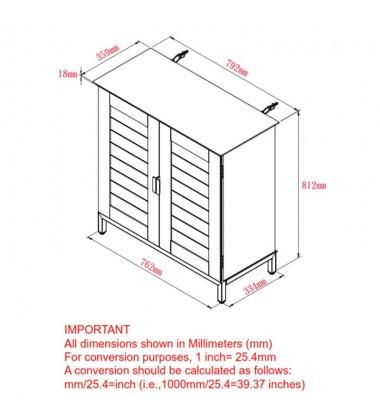Faro-Cabinet-Walnut (507-099WAL) - Worldwide HomeFurnishings
