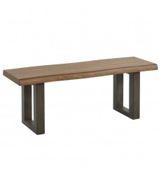 Forrest-Bench-Dark Oak/Grey (401-289CF)