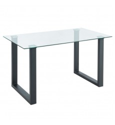 Franco-Dining Table-Black (201-454BK)