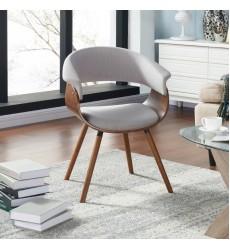 Holt-Accent Chair-Fabric Grey (403-981GY) - Worldwide HomeFurnishings