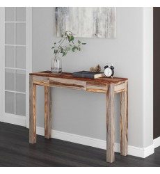 Idris-Console/Desk-Grey 2-Tone (502-814GY) - Worldwide HomeFurnishings