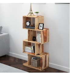 Idris-Shelving Unit-Dark Sheesham (505-814DS)