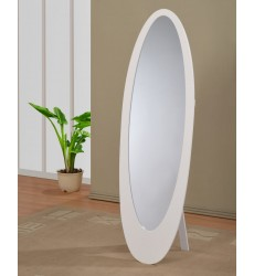 Worldwide - Infinity Ii Cheval Mirror - White (503-765WT)