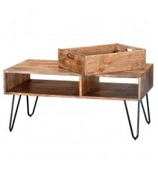 Jaydo-Coffee Table-Natural Burnt (301-137NT)
