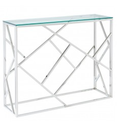 Juniper-Console Table-Silver (502-492CH) - Worldwide HomeFurnishings