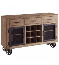 Worldwide - Lakeview Server - Vintage Pine (254-170)