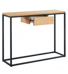 Lance-Console Table-Oak (502-421OK) - Worldwide HomeFurnishings