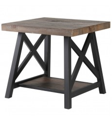 Langport-Accent Table-Rustic Oak (501-332RK) - Worldwide HomeFurnishings