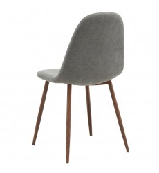 Lyna-Side Chair-Grey (202-250GY) Side Chair - Worldwide HomeFurnishings