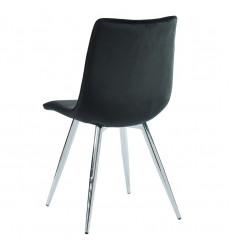 Marlo-Side Chair-Black (202-110BK) Side Chair - Worldwide HomeFurnishings